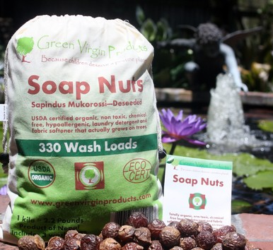 Green you home:  Green Virgin Products Soap Nuts, Deodorant, and Moringa Leaf Powder