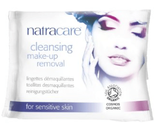 99.6% Natural, 20% Organic Cleansing Make-Up Removal Wipes by Natracare