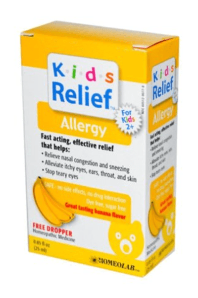 Treat you children's allergies naturally with homeopathy and essential oils