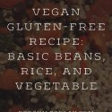 vegan gluten-free recipe