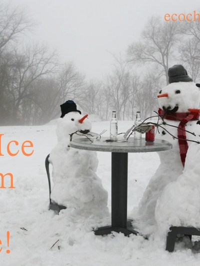 Snow Ice Cream Recipes and  More Snow!  Snow! Snow!