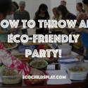 eco-friendly party
