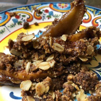Homeschool Cooking: Easy, Vegan, Gluten-Free Apple Crisp