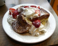 Kids love stuffed french toast!