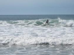Surfing Palmar Beach
