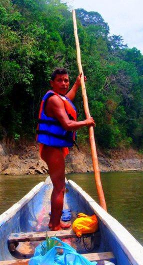 A local Embera Guide