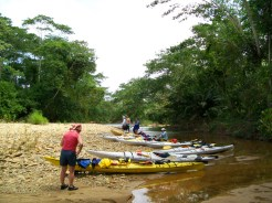 kayakkng river