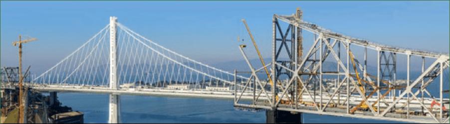 dismanteled bridge