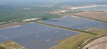 Сонячна електростанція Solarpark Finsterwalde