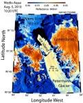 Величезний льодовик відколовся від Гренландії