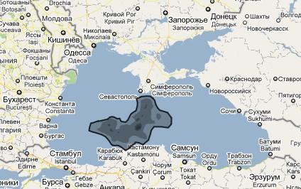 Нафтова пляма у Чорному морі