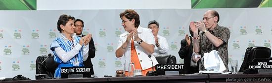 Домовленості кліматичного саміту в Канкуні дають надію на успіх у боротьбі зі зміною клімату
