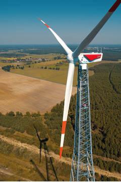 На Новоазовській вітровій електростанції будуть встановлені перші сучасні вітротурбіни