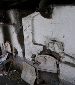 Старий вугільний котел Арцизької лікарні