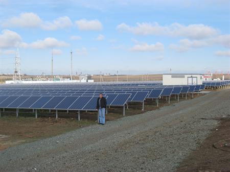 Перша сонячна електростанція України
