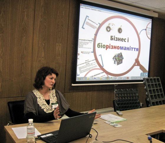 Олена Тарасова: Інтеграція складової біорізноманіття у програми соціальної відповідальності компанії: нові можливості для бізнесу