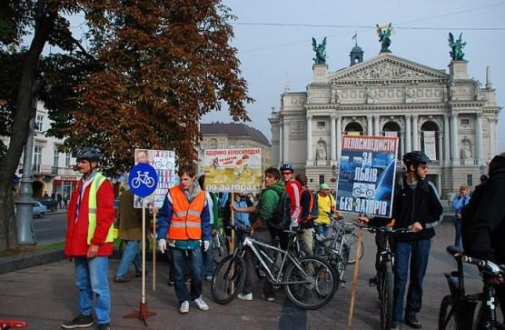 Велодоріжкам Львова - бути!