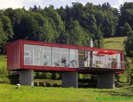 austria container Casas con contenedores baratas y ecológicas