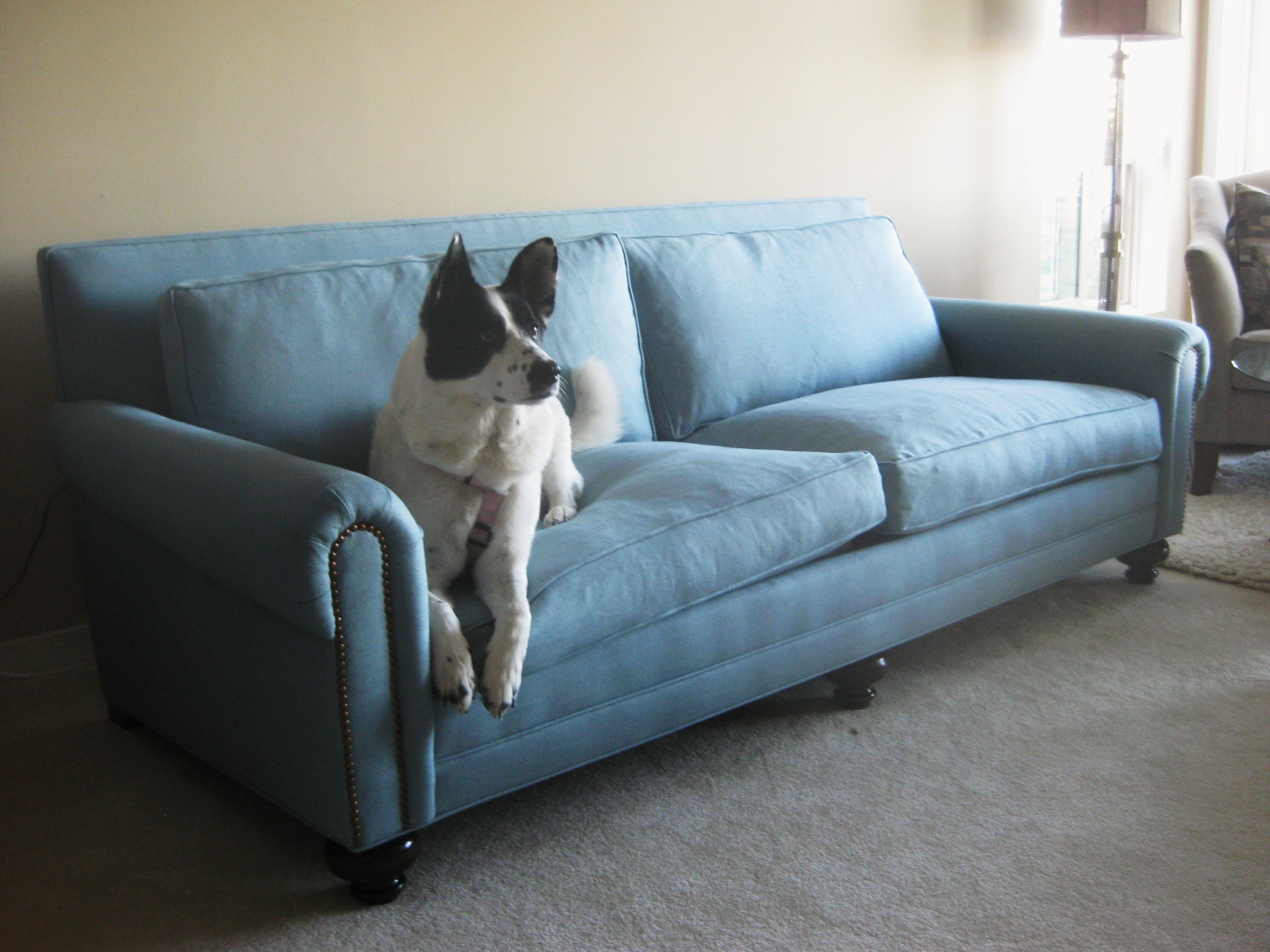 custom sofas seattle wa balkarp sofa bed black couch to the inch seating at non