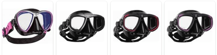 Scubapro diving scuba mask