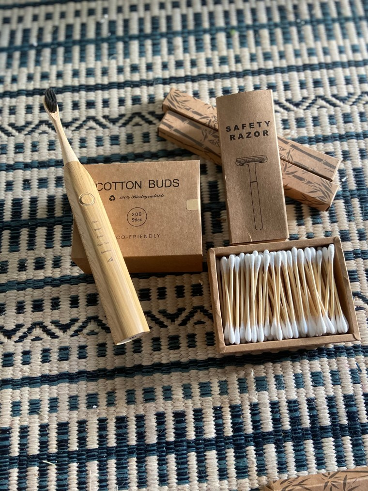 ecofriendly bamboo electric toothbrush