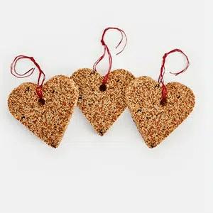 Birdseed feaders #valentinesday