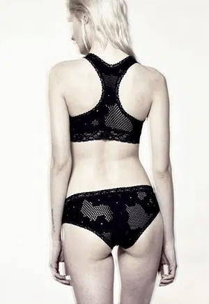 Cruelty-free, made in Brooklyn lingerie