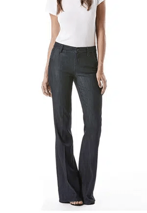 Wide-leg jeans // made in the USA