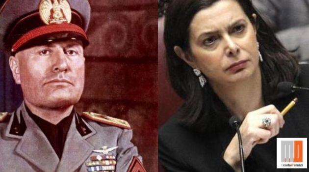 Boldrini: vietare apologia fascismo anche su Facebook