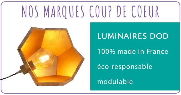 Marque éco-responsable luminaire dod