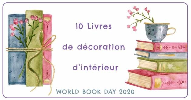 10 livres de décoration d'intérieur