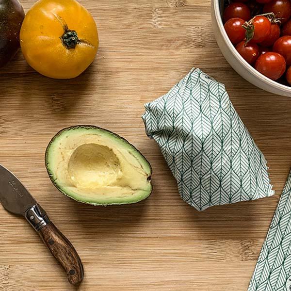 emballage alimentaire réutilisable bee wrap