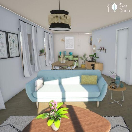 Plan 3D architecture d'intérieur