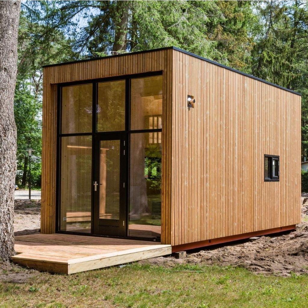 maison écologique tiny house