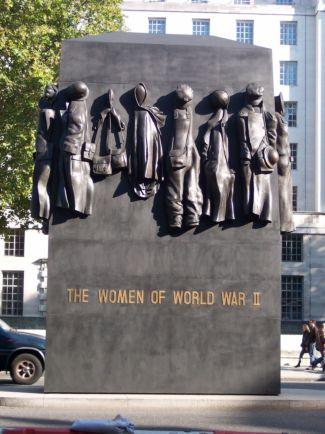 Monumento a la mujer en la Segunda Guerra Mundial, Londres. / GuSh