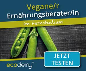 Veganer Ernährungsberater Ausbildung im Fernstudium