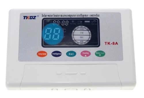 Configuracion de la temperaturaTK-8A ECODIP