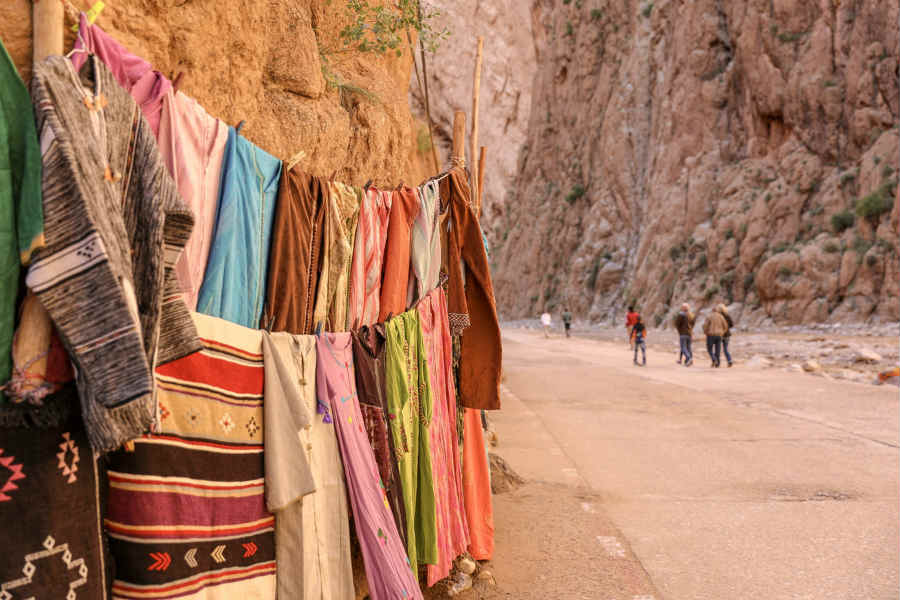 Artisans in Morocco Dades Gorge in Tinghir