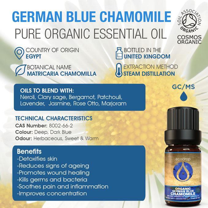 German Blue Chamomile Oil