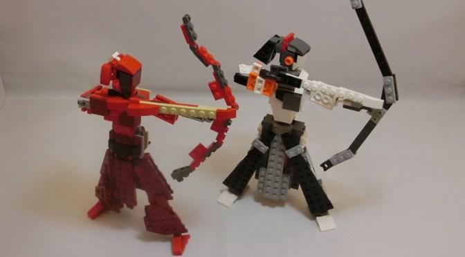 紅の弓道家