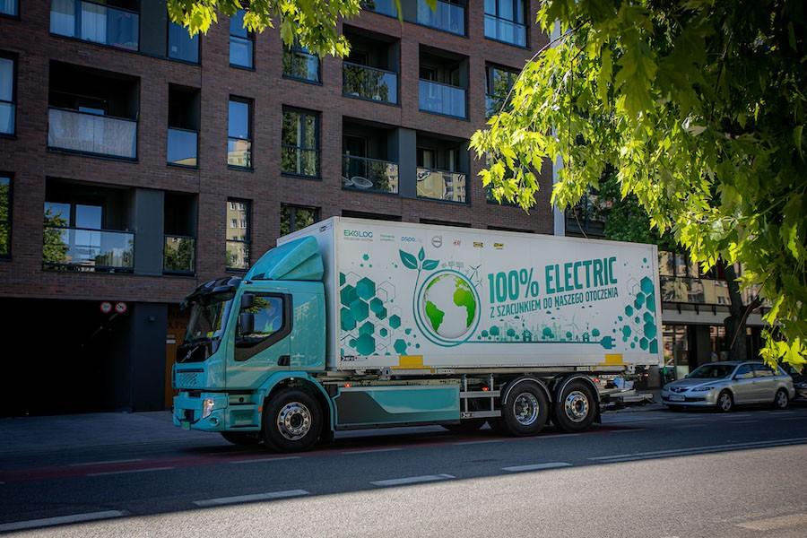 Elektryczne samochody ciężarowe