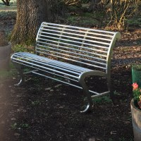 Stainless Steel MARINE GRADE 316 Park Benches 1550mm L x ...