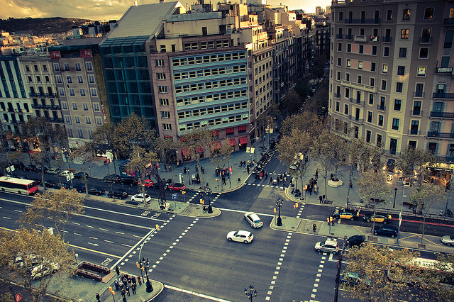 La Eficiencia Energtica de Barcelona y su Ensanche