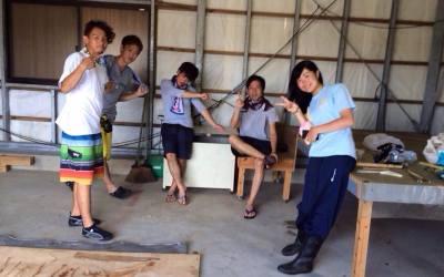 【宝島ボランティア3日目!】宝島生活3日目が終わりました…