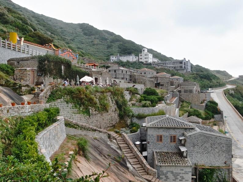 馬祖の美しい石造りの家々