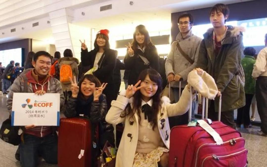 無事に入国そして合流・台湾ボランティア第一弾開始!