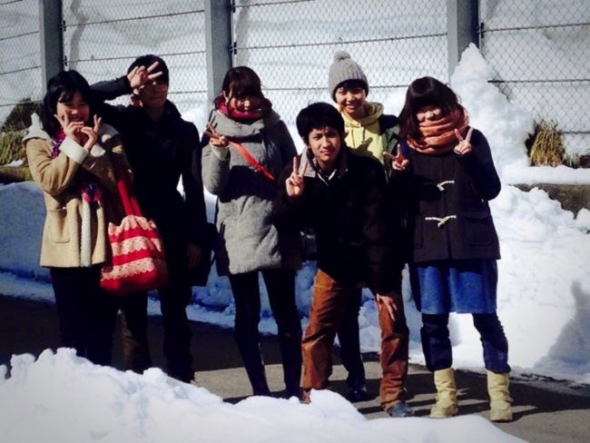 村おこしボランティア【勝山市北谷コース】に参加した学生ボランティア