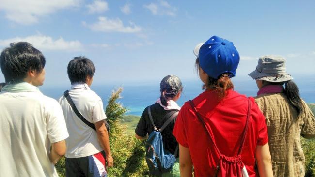 島全体から感じる大自然!