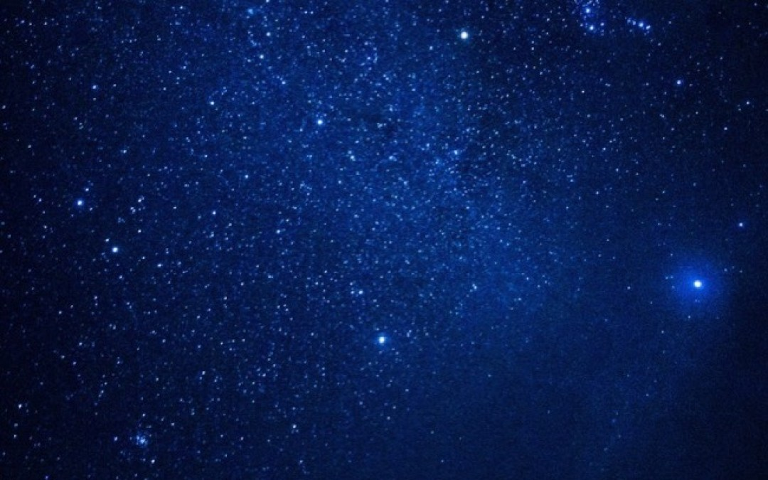 離島で寝転がって星を見る