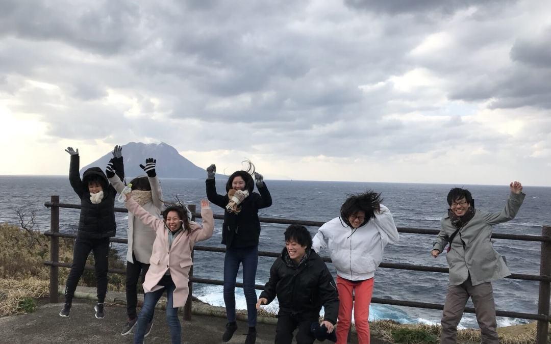 竹島上陸!!